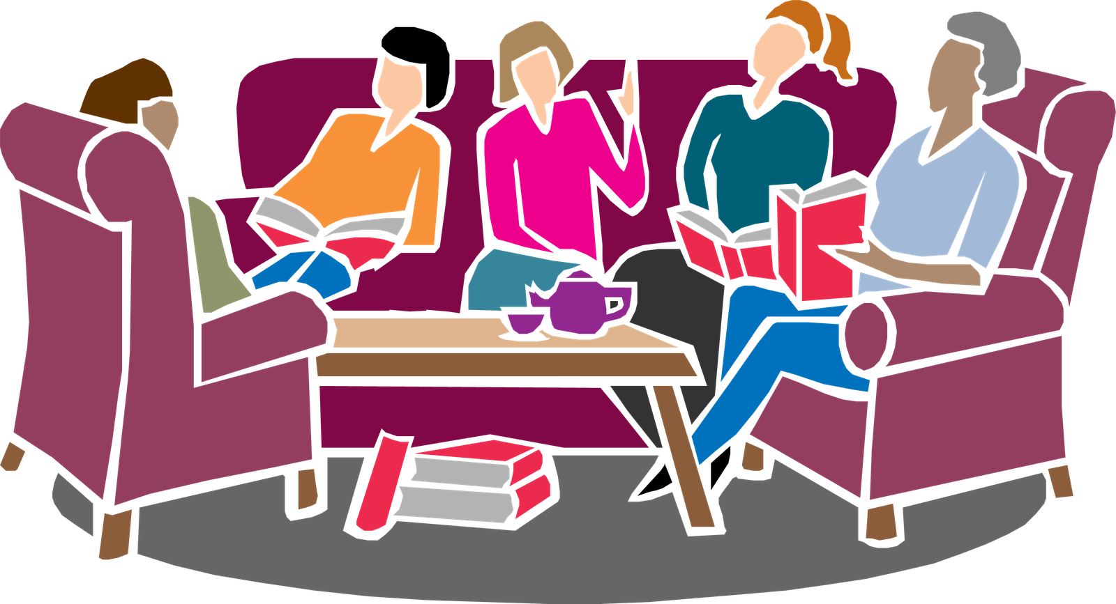 Book Discussion Groups at East Granby Public Library.