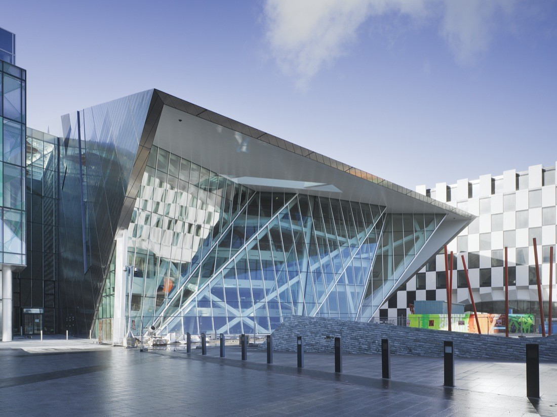 Gallery of Grand Canal Theatre / Daniel Libeskind.