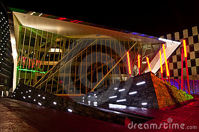 Grand Canal Theatre Dublin Royalty Free Stock Photography.