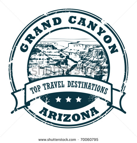 Grand canyon clipart black and white.