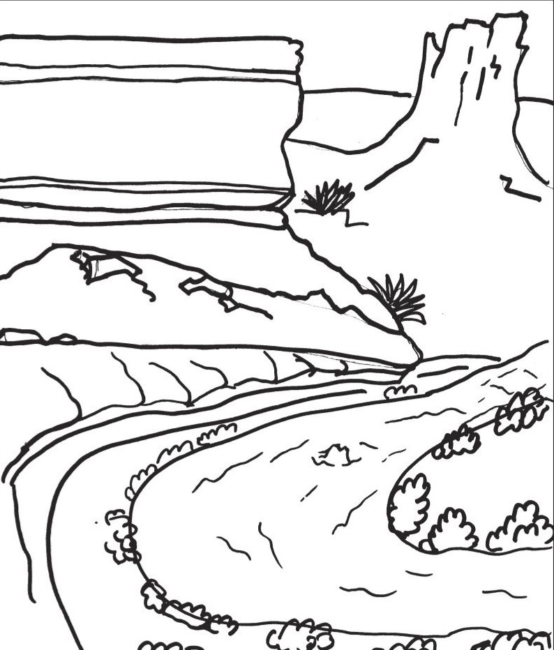 The best free Canyon drawing images. Download from 113 free.
