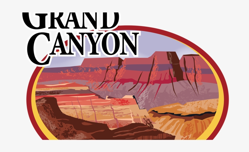 Hiking Grand Canyon Clipart PNG Image.