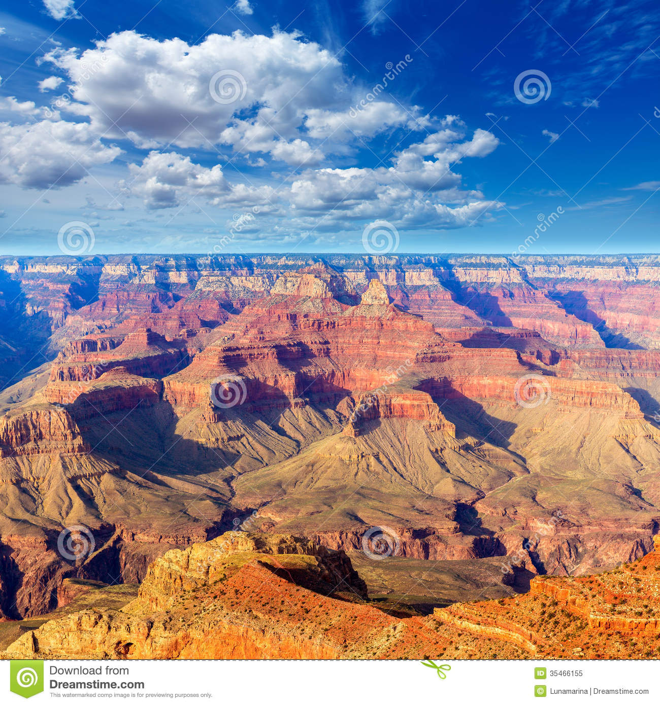 Arizona Grand Canyon National Park Mother Point US Stock Image.