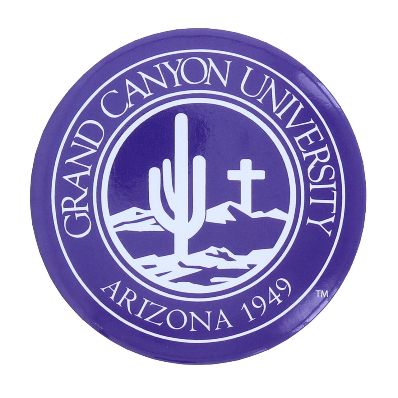 Grand Canyon University Purple Seal Magnet.