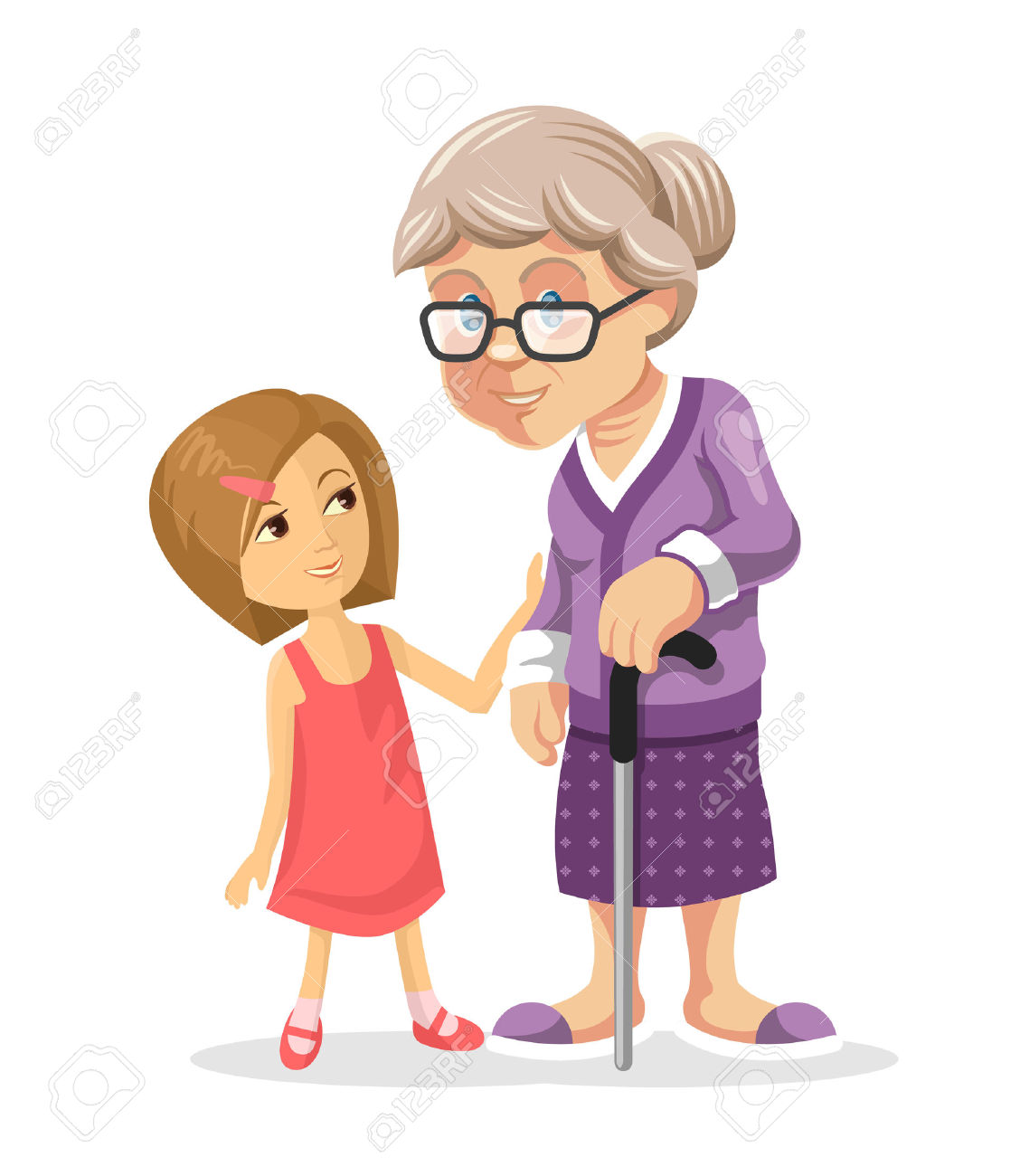 Free granddaughter clipart.