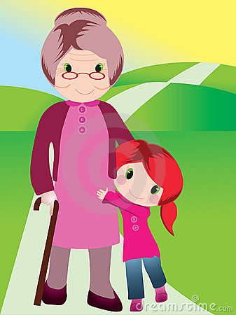 Grand daughter clipart - Clipground