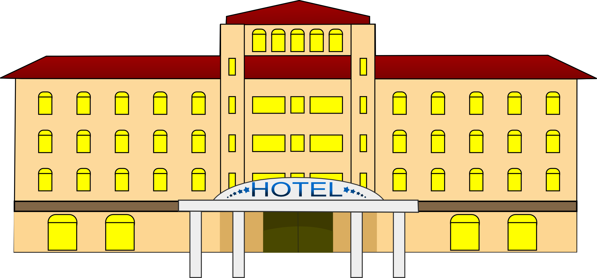 Hotel Clipart & Hotel Clip Art Images.