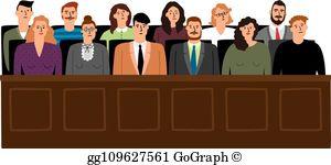 Grand Jury Clip Art.