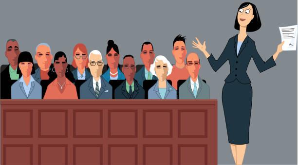 Best Jury Illustrations, Royalty.