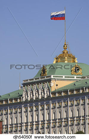 Stock Photography of Russia, Moscow, The Kremlin, The Grand.
