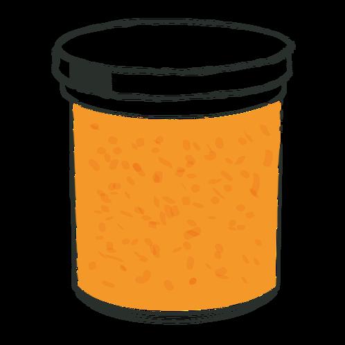 Apricot, Orange & Grand Marnier.