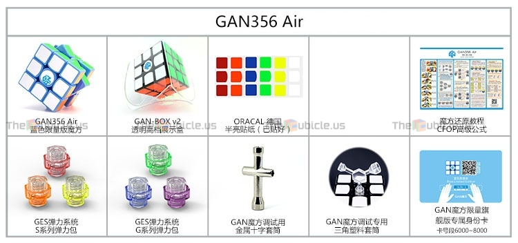TheCubicle.us : Gans 356 Air (Grand Master) : 3x3.
