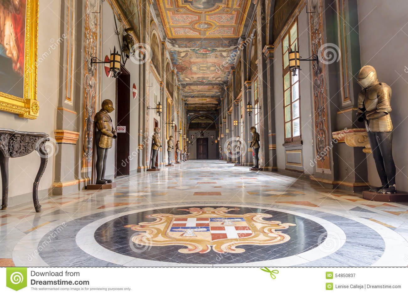 The Grand Master Palace In Valletta, Malta Editorial Photography.