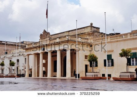 Grand Masters Palace Malta Stock Photos, Royalty.