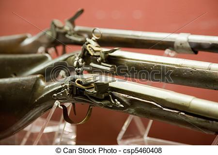 Pictures of Closeup of medieval handgun in Valletta Grand Master.