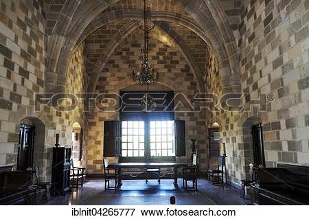 Picture of Interior of the Grand Master's Palace, Rhodes Town.