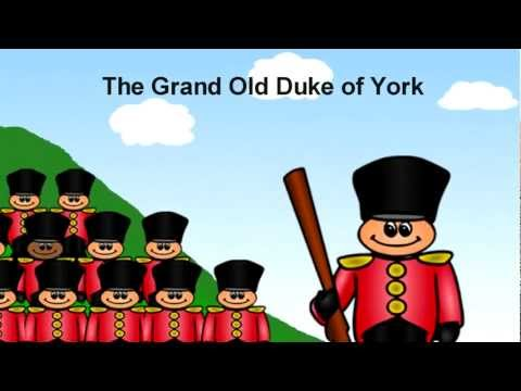 Grand Old Duke of York ***.
