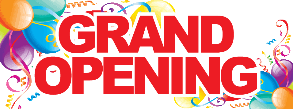 Grand Opening Banner Clipart.