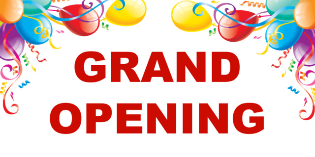 Grand Opening Cliparts.