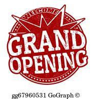 Grand Opening Clip Art.