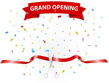 4,390 Grand Opening Stock Illustrations, Cliparts And Royalty Free.