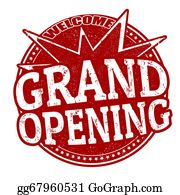 Grand Opening Clip Art.