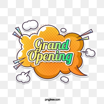 Grand Opening PNG Images.