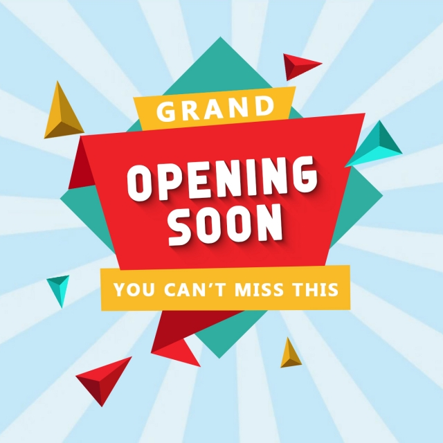 Grand Opening Soon Tag, Grand Opening, Offer, Opening PNG.