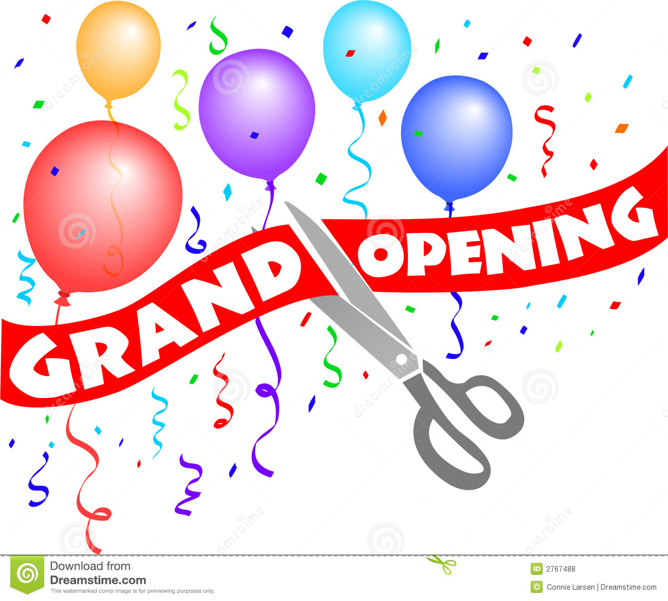 Free Clipart Of Ribbon Cutting Ceremony.