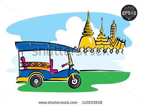 Silhouette grand palace thailand vector free vector download.