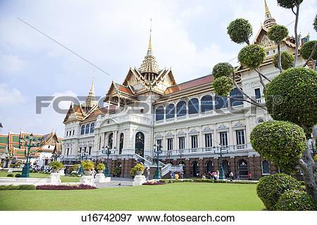 Picture of Thailand, Bangkok, Grand Palais, Cakri Group u16742097.