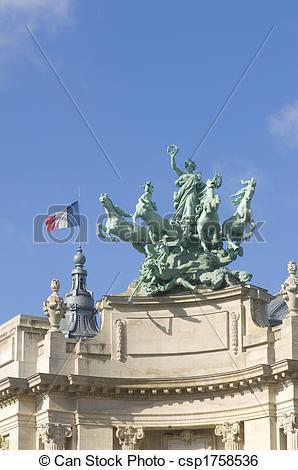 Stock Image of Grand Palais de D�couverte.