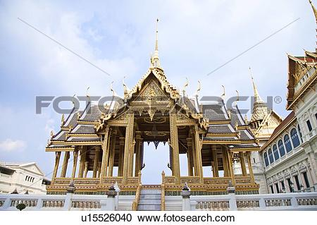 Stock Photography of Thailand, Bangkok, Grand Palais, Aphonphimok.