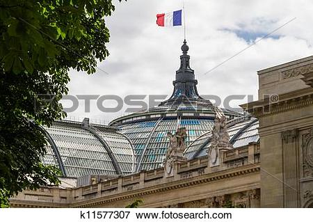 Picture of Grand Palais in Paris, France k11577307.