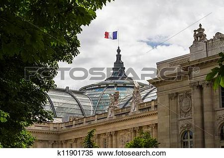 Stock Image of Grand Palais in Paris, France k11901735.