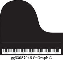 Grand Piano Clip Art.