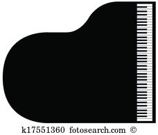 Grand piano Clipart EPS Images. 1,203 grand piano clip art vector.