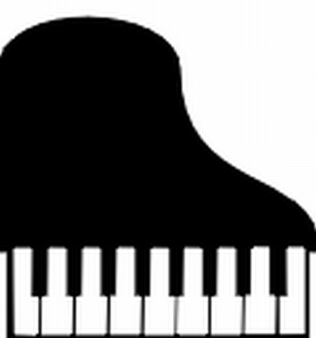 Piano Keyboard Clipart.