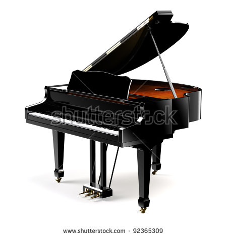 Grand Piano Stock Images, Royalty.