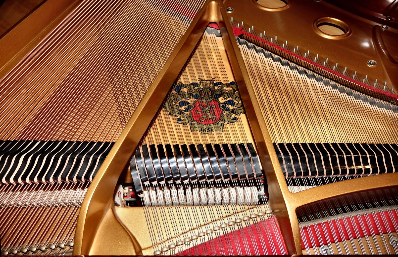 """Bill Kap Piano Company """"Ohio's Largest Piano Showcase""""."""