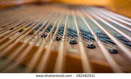 Piano Strings Stock Photos, Royalty.