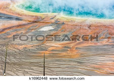 Pictures of Grand Prismatic Spring k16962448.