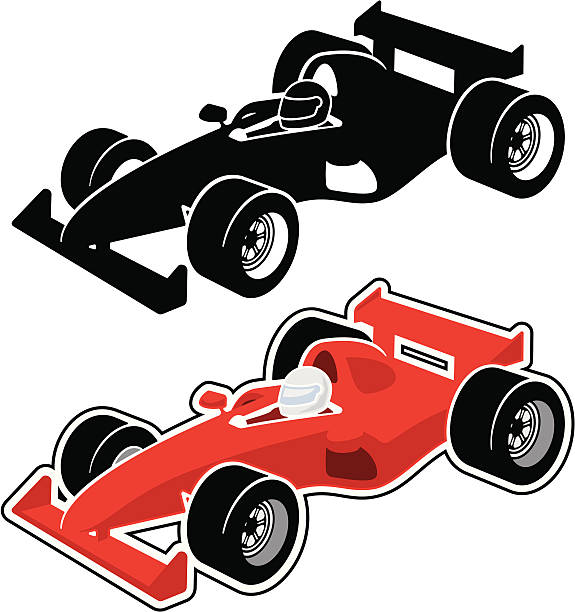 Best Grand Prix Racing Illustrations, Royalty.