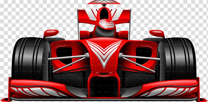 Red and black F1 illustration, Formula One Abu Dhabi Grand Prix.