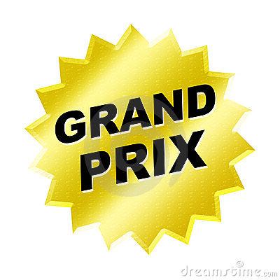 Grand prix clipart.
