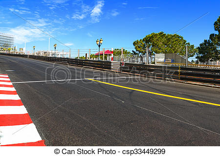 Stock Photographs of Monaco, Monte Carlo. Sainte Devote straight.