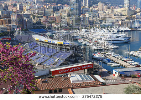 Monaco Race Stock Photos, Royalty.