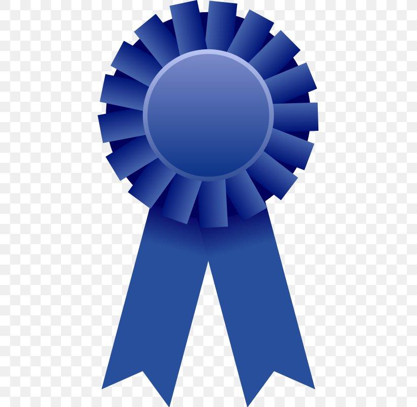 Blue Ribbon Award Prize Clip Art, PNG, 435x800px, Ribbon.