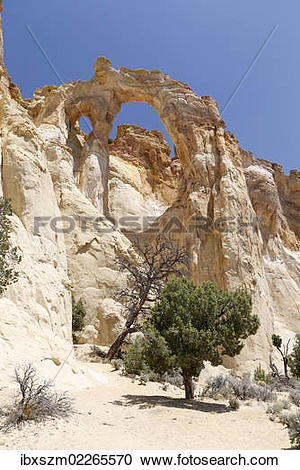 "Stock Photography of ""Grosvenor Arch, Grand Staircase, Escalante."