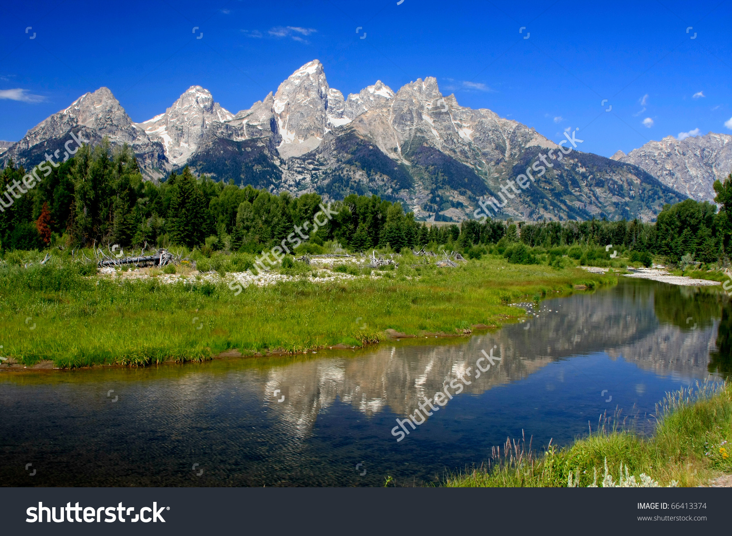 Grand Teton National Park Jackson Wyoming Stock Photo 66413374.